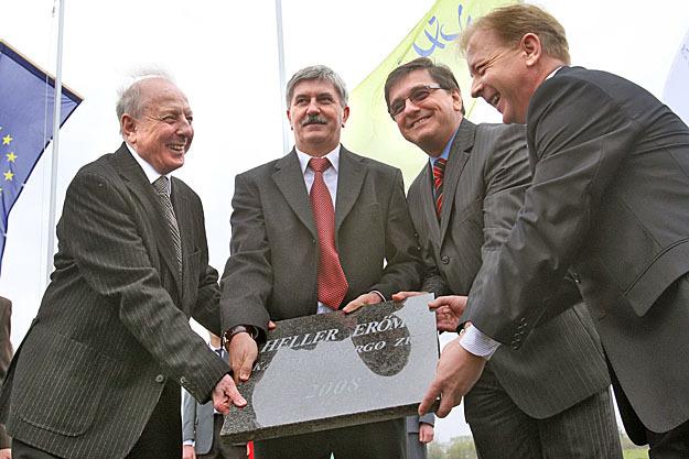 Kapolyi László, Kocsis István, Veres János és Jüttner Csaba (Fotó: Népszabadság - Reviczky Zsolt)