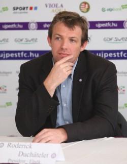 Roderick Duchâtelet (Fotó: ultrasliberi.hu)