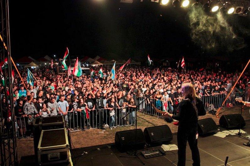 Koncert a 2012-es EMI táborban